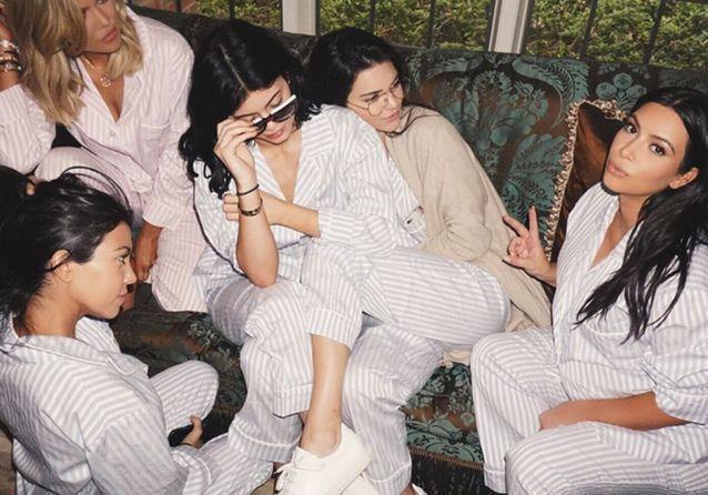 Les Instagram de la semaine: pyjama party chez les Kardashian!