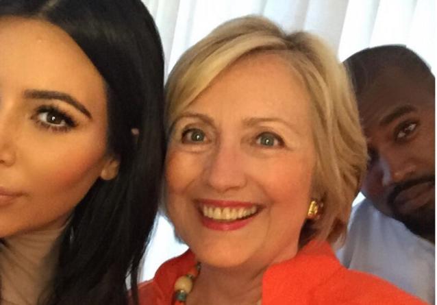 Les Instagram de la semaine: quand Kim et Kanye rencontrent Hillary Clinton!