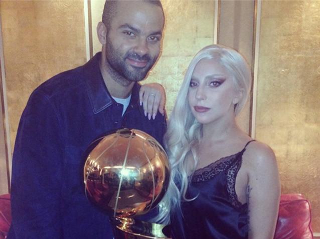 Les Instagram de la semaine : Lady Gaga rencontre Tony Parker !