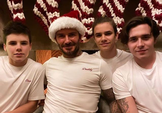 Les meilleurs Instagram de Noël des stars