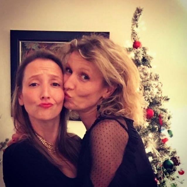 Alexandra et Audrey Lamy