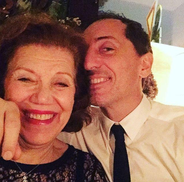 Gad Elmaleh et sa mère