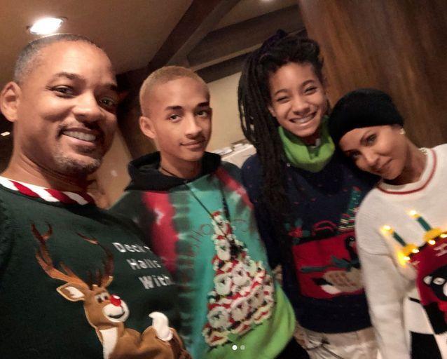 Will Smith en famille