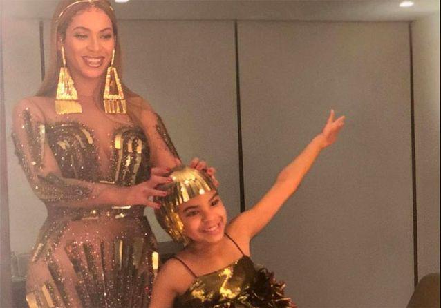 Les photos dingues d'une soirée VIP avec Beyoncé, Jay Z et leur fille Blue Ivy
