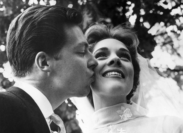 Julie Andrews et Tony Walton