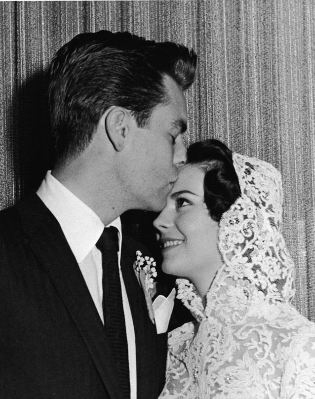 Natalie Wood et Robert Wagner