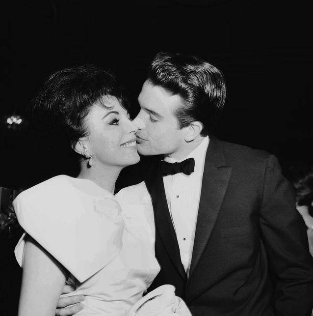 Warren Beatty et Joan Collins