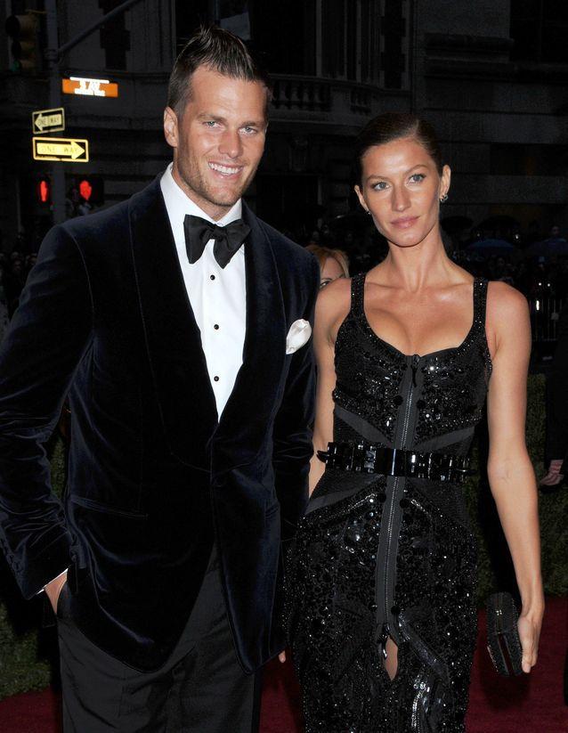 Avec Tom Brady
