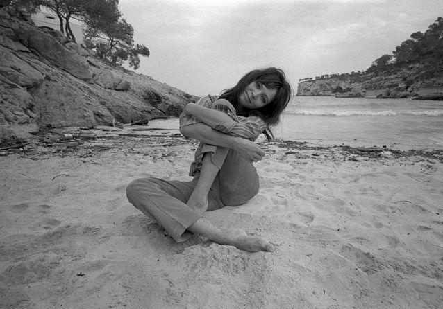Anna Karina, Majorque, 1968