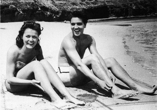 Elvis Presley et Joan Blackman, Hawaï, 1961