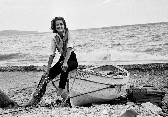 Jane Fonda, Nice, 1963