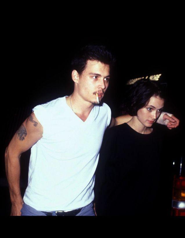 Johnny Depp et Winona Ryder