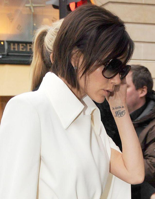 Tatouage Victoria Beckham
