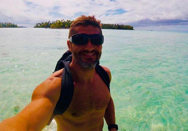 Les vacances de rêve de Bixente Lizarazu et son fils Tximista en Polynésie
