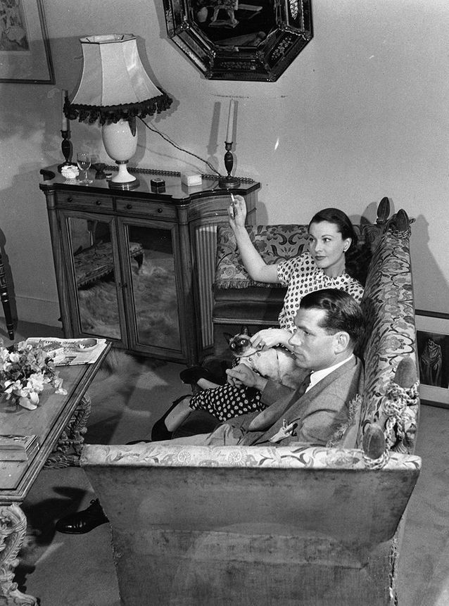 Laurence Olivier et Vivien Leigh