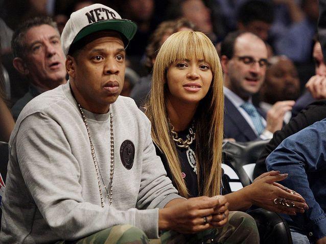 Jay-Z et Beyoncé!