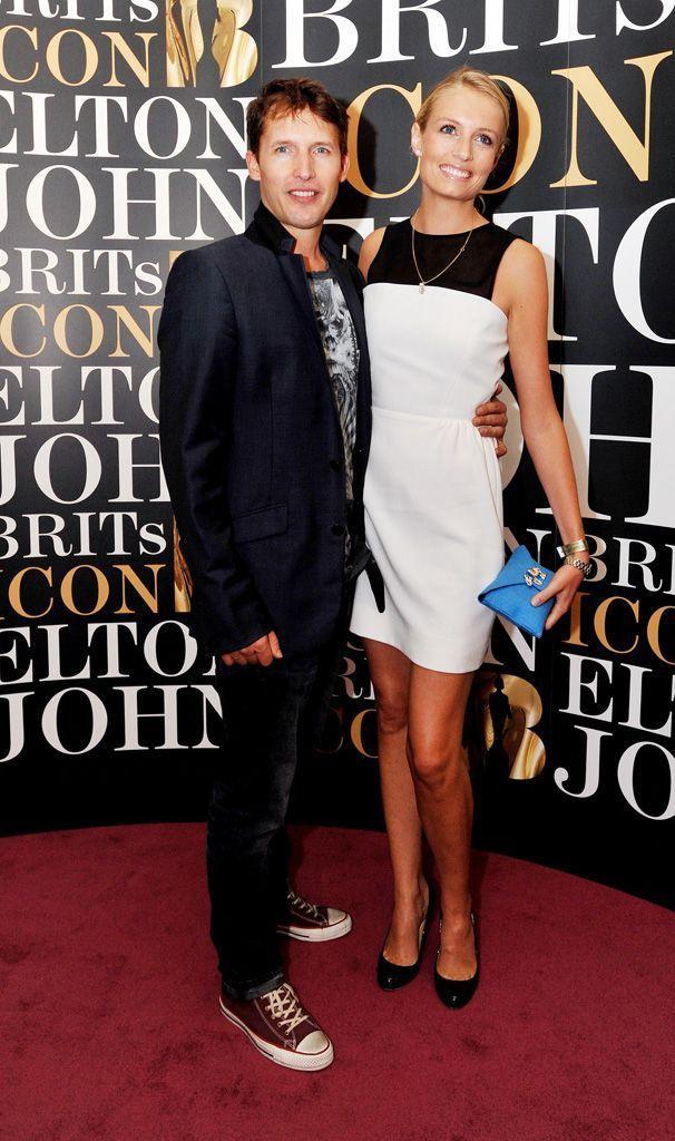 Le couple à Londres en 2013