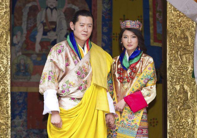Mariage royal : Jigme Khesar et Jetsun Pema, le couple instagramable