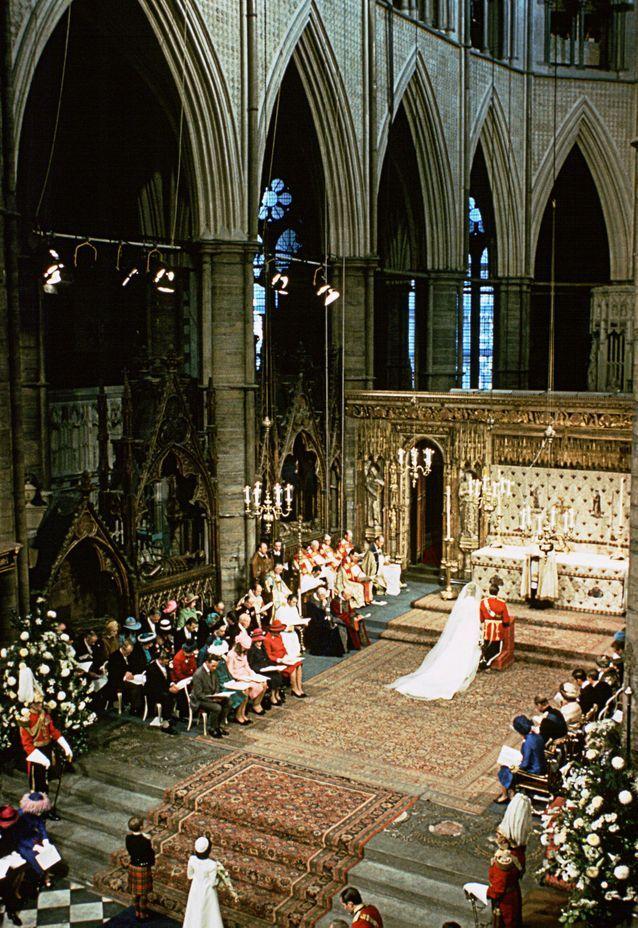 Mariage de la princesse Anne avec Mark Phillips
