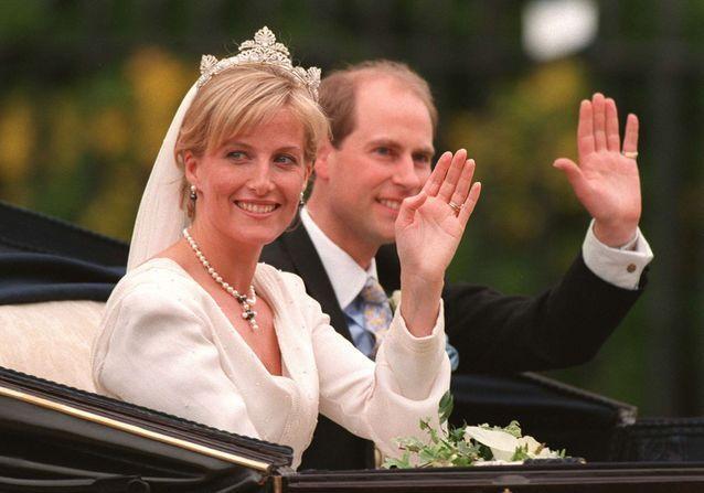 Mariage Royal : le prince Edward et la princesse Sophie de Wessex, le couple discret de la famille royale britannique