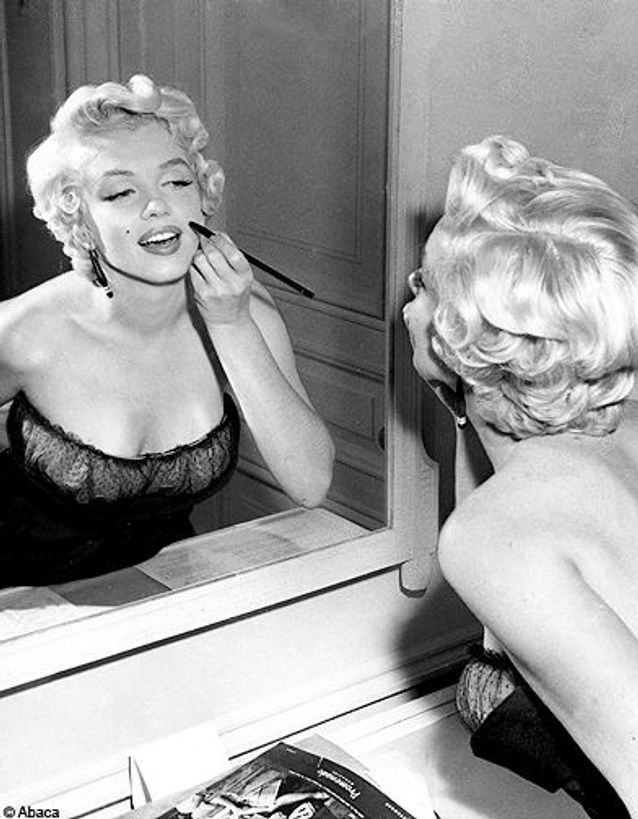 Marilyn se maquille
