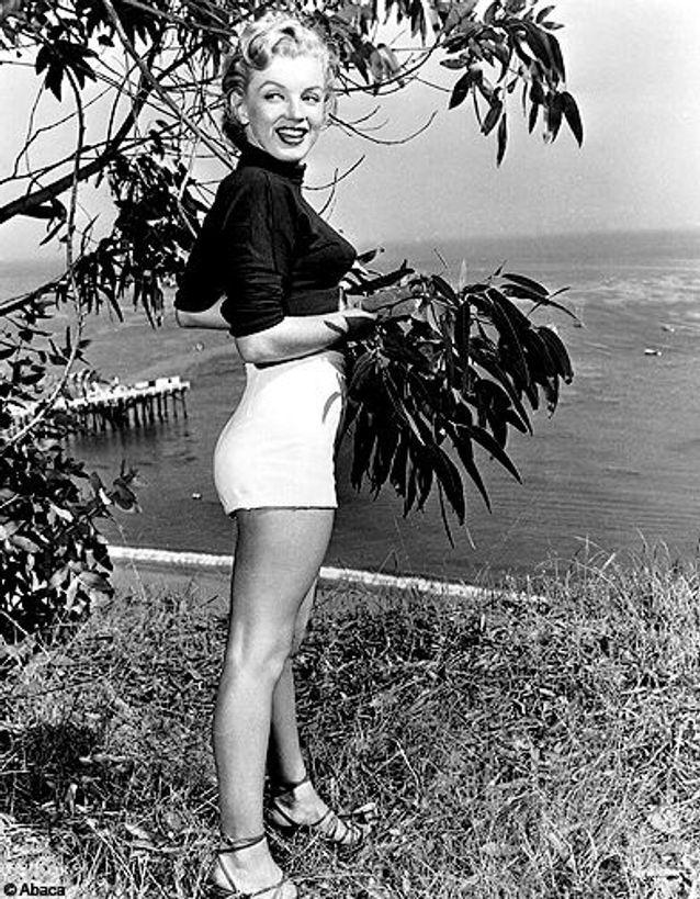 Photo non datée de Marilyn Monroe