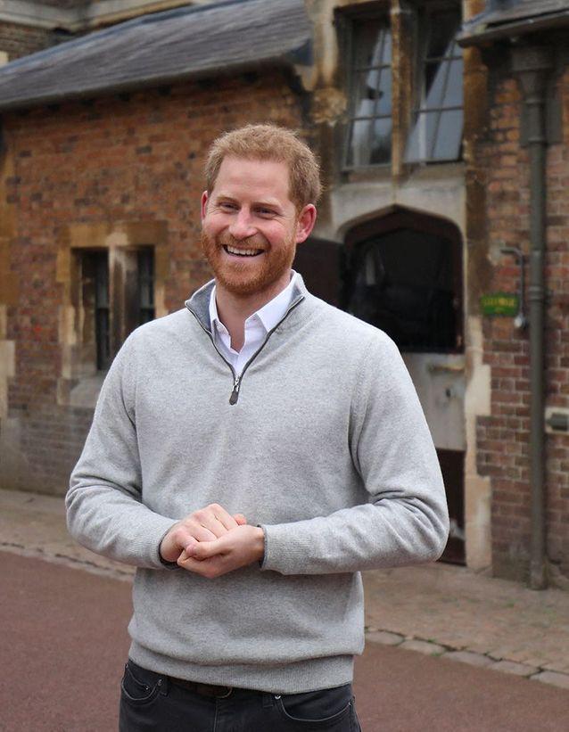 Le prince Harry heureux d'annoncer la naissance de son fils