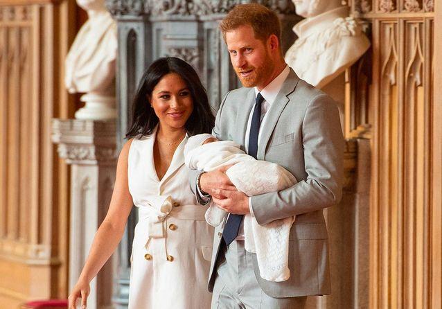 Meghan et Harry dévoilent une nouvelle photo d'Archie pour la fête des mères