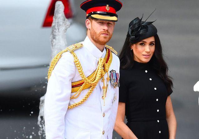 Meghan Markle enceinte : ventre rond et regards amoureux avec le prince Harry
