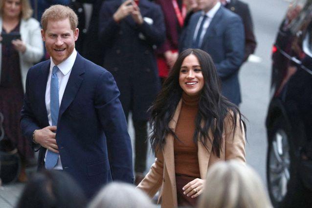 Le prince Harry et Meghan à Londres