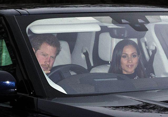 L'arrivée du prince Harry et Meghan Markle