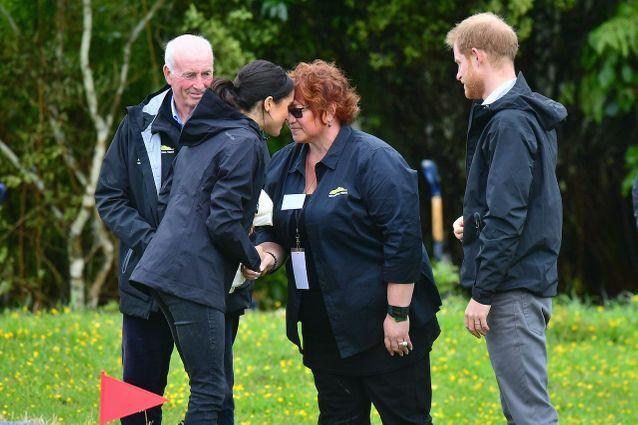 Accueil traditionnel néo-zélandais pour Meghan Markle et le Prince Harry