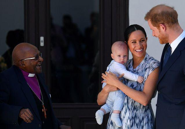 Desmond Tutu, Meghan Markle, Archie et le prince Harry