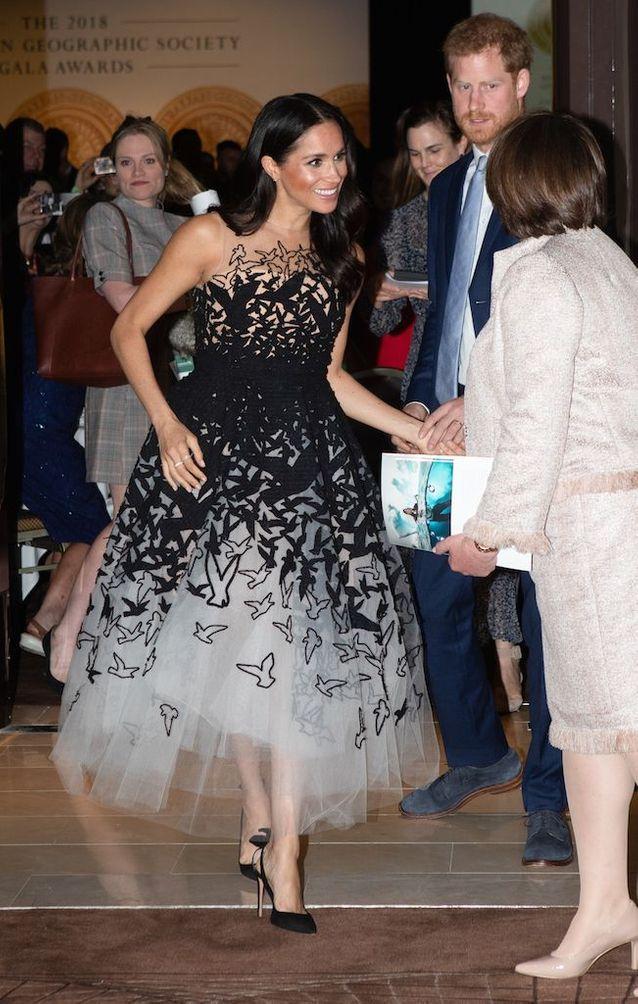 Meghan Markle et le Prince Harry arrivent aux Australian Geographic Society Awards