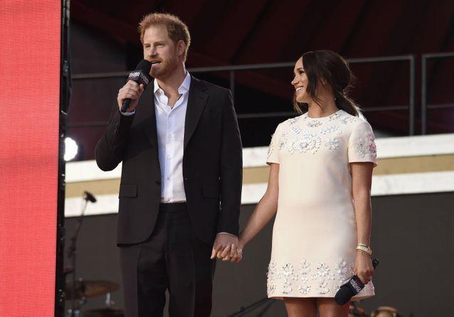 Meghan Markle et le prince Harry : main dans la main au Global Citizen Live