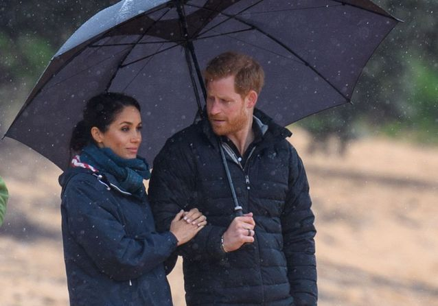 Meghan Markle et le Prince Harry : sortie romantique sous la pluie en Nouvelle-Zélande