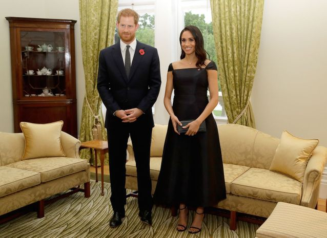 Meghan Markle et le Prince Harry lors de la soirée du 125ème anniversaire du droit de vote des femmes en Nouvelle-Zélande