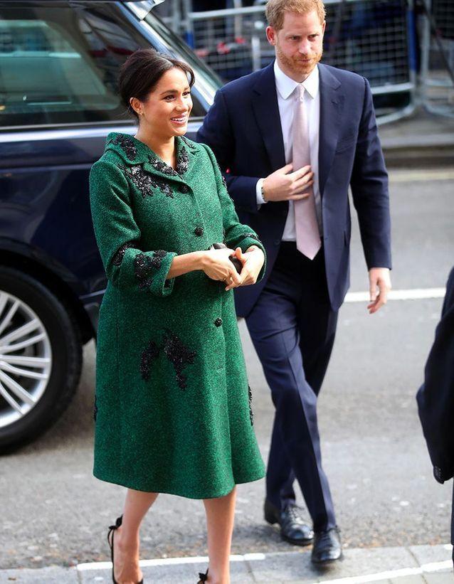 L'arrivée de Meghan Markle et prince Harry