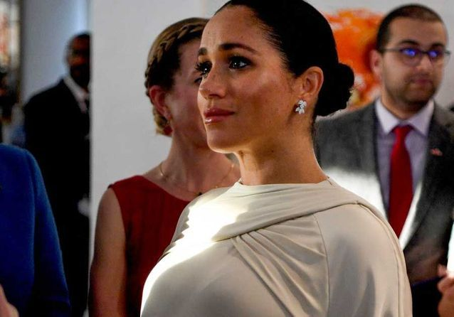 Meghan Markle : sublime en blanc pour une soirée au Maroc