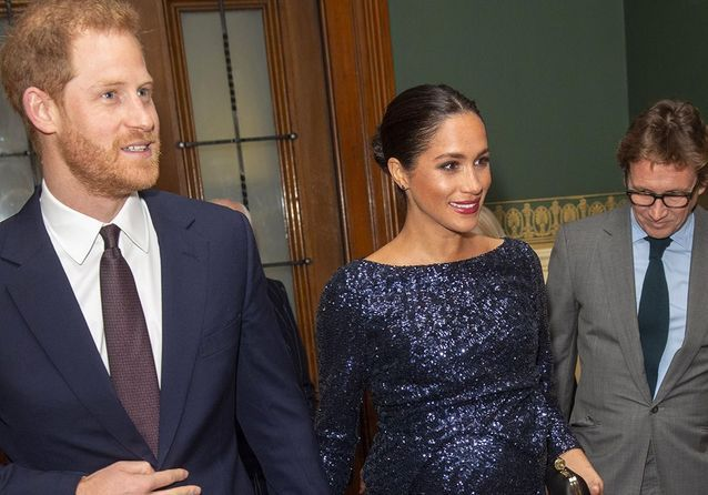 Meghan Markle : sublime en robe à sequins, elle rend hommage à Lady Di