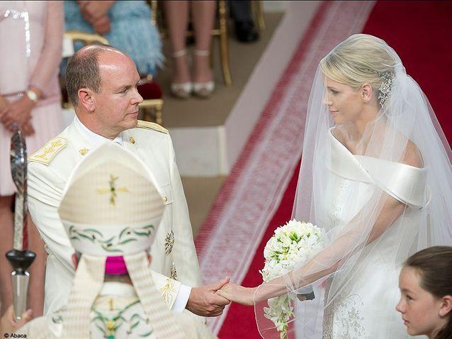 People mariage albert charlene autel