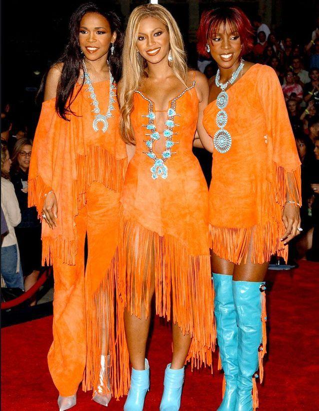 Les Destiny's Child en 2001