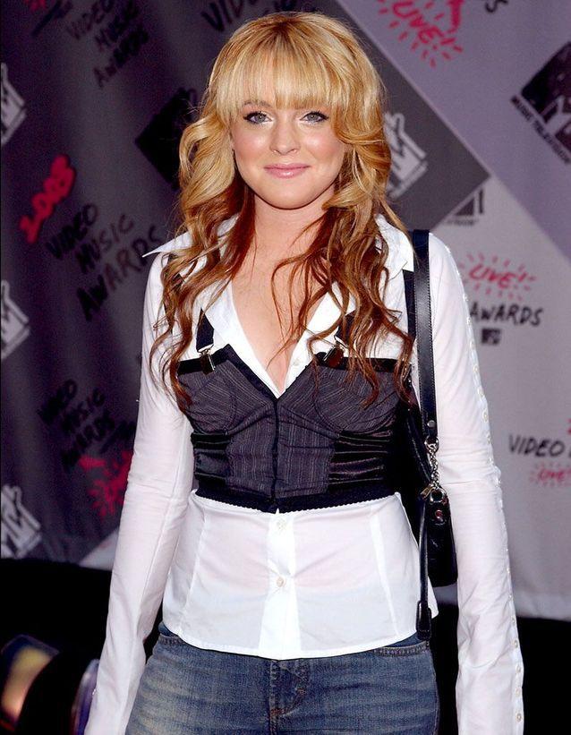 Lindsay Lohan en 2003