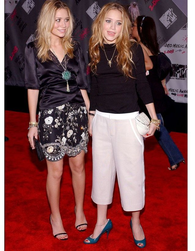 Mary Kate et Ashley Olsen en 2003