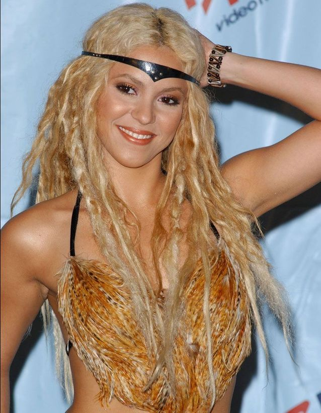 Shakira en 2001