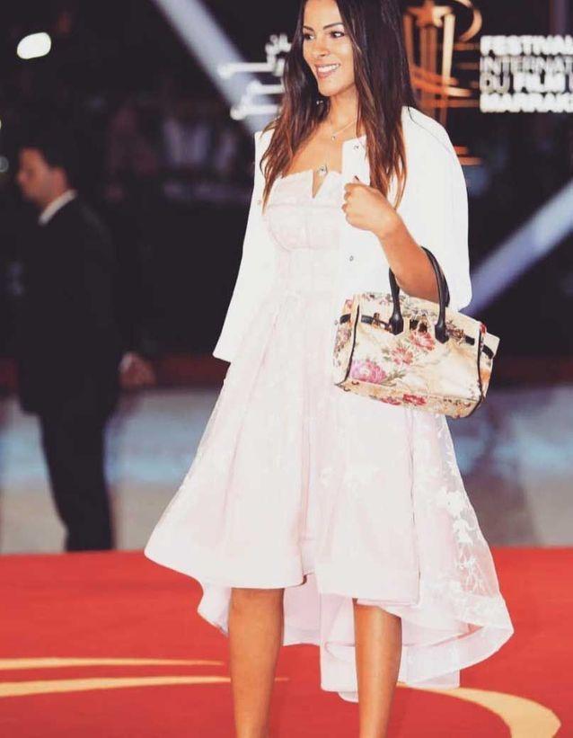 Nawel Debbouze au Festival du film de Marrakech