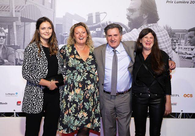 Nelly Auteuil (à gauche), Aurore Auteuil, Daniel Auteuil et Aude Ambroggi