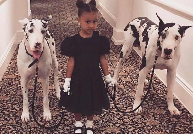 North West, 5 ans, mini-fashionista