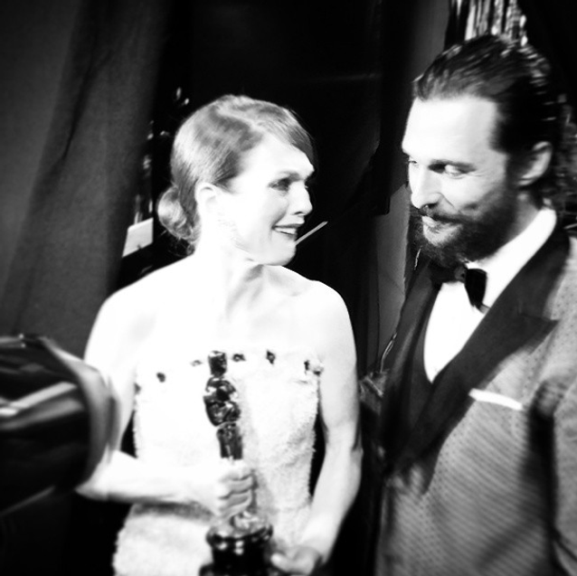 Julianne Moore et Matthew McConaughey
