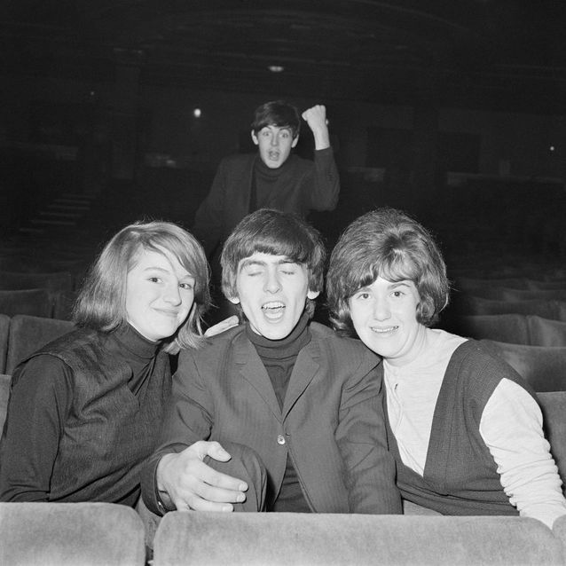 Paul McCartney et George Harrison